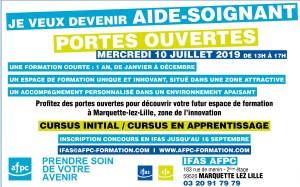 Portes ouvertes 10 juillet IFAS AFPC